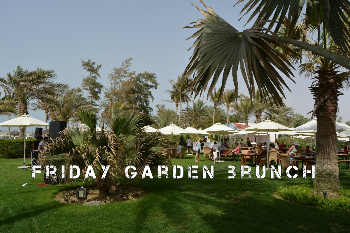 Friday Garden Brunch, Kempinski Hotel, Ajman