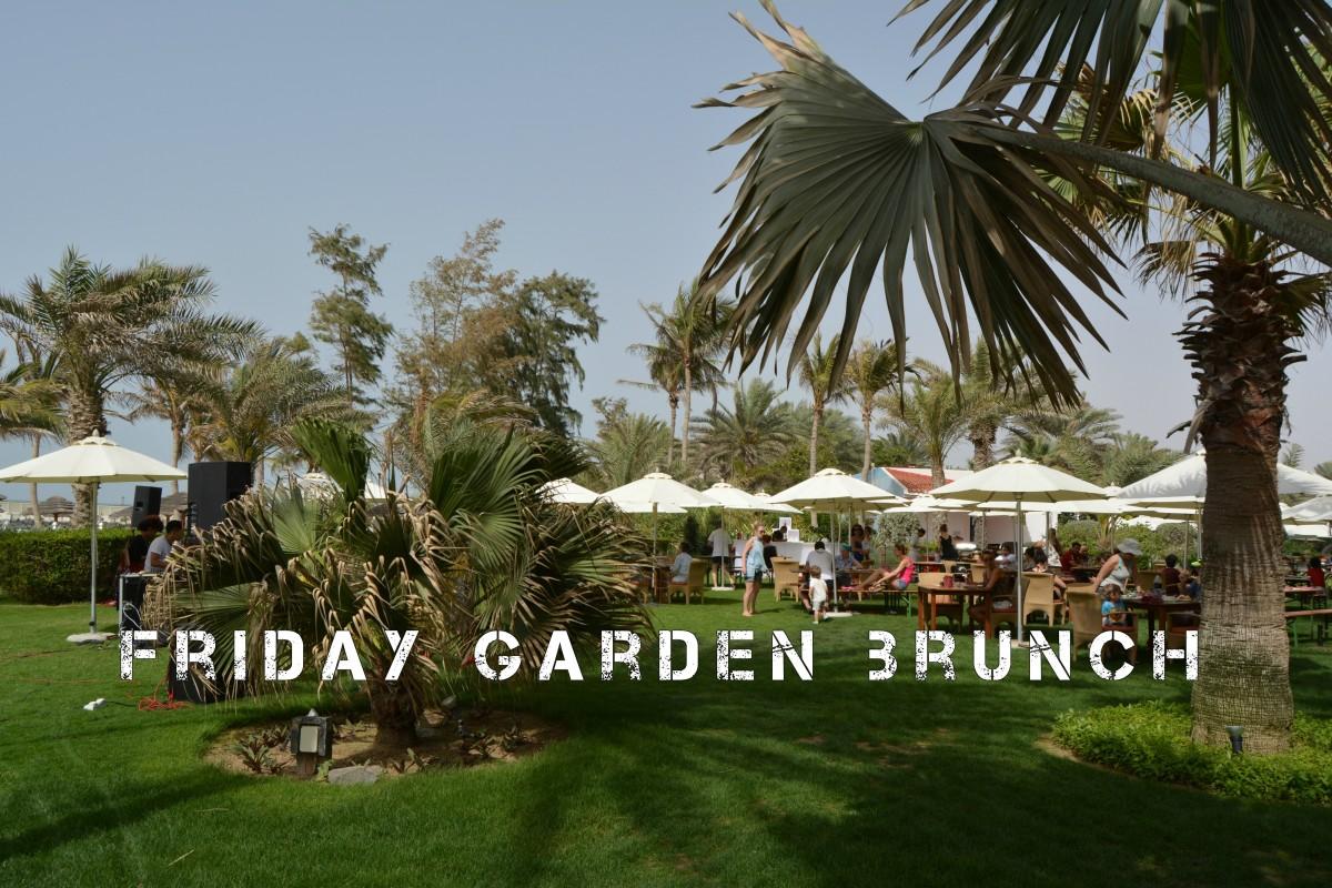 Friday Garden Brunch, Kempinski Hotel, Ajman